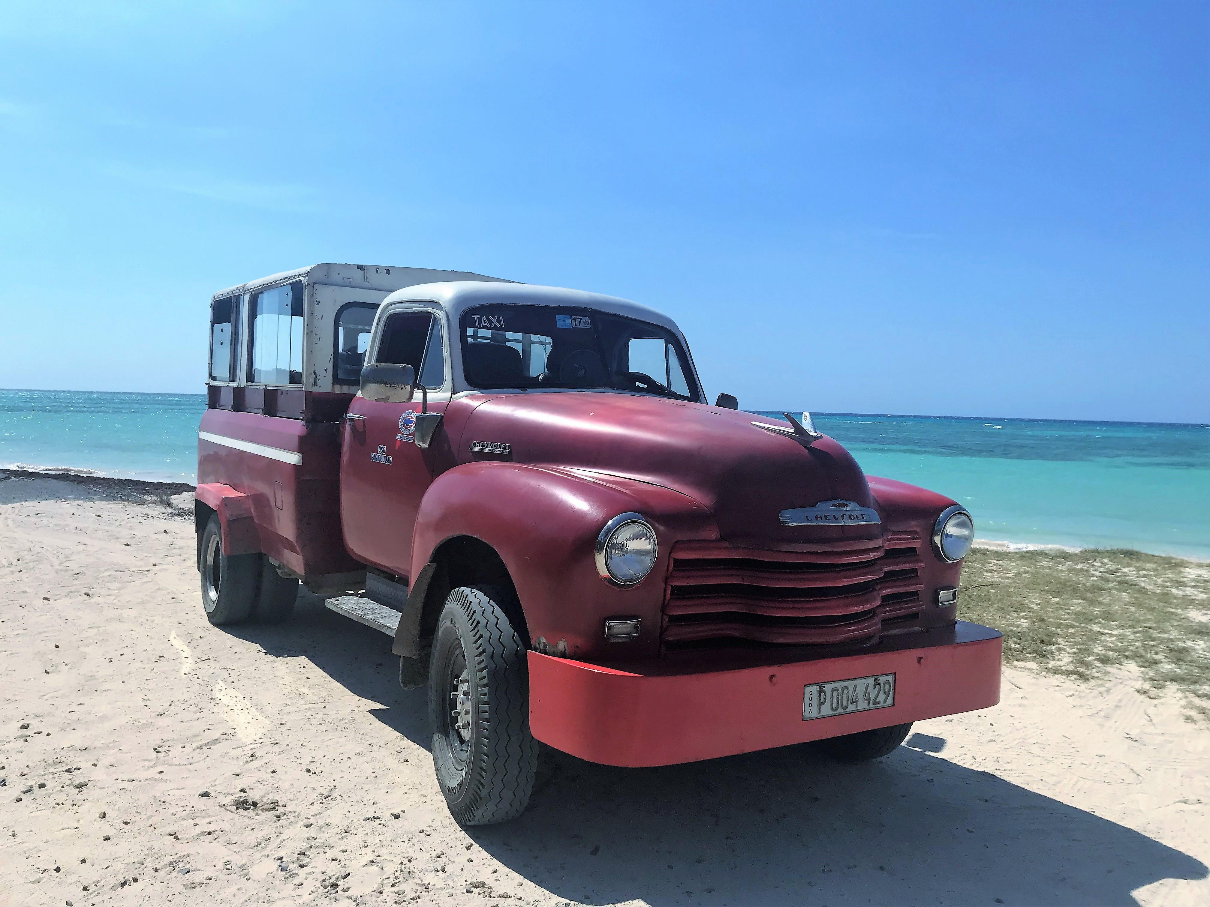 Chevrolett del 50 para ir a Cayo Jutías