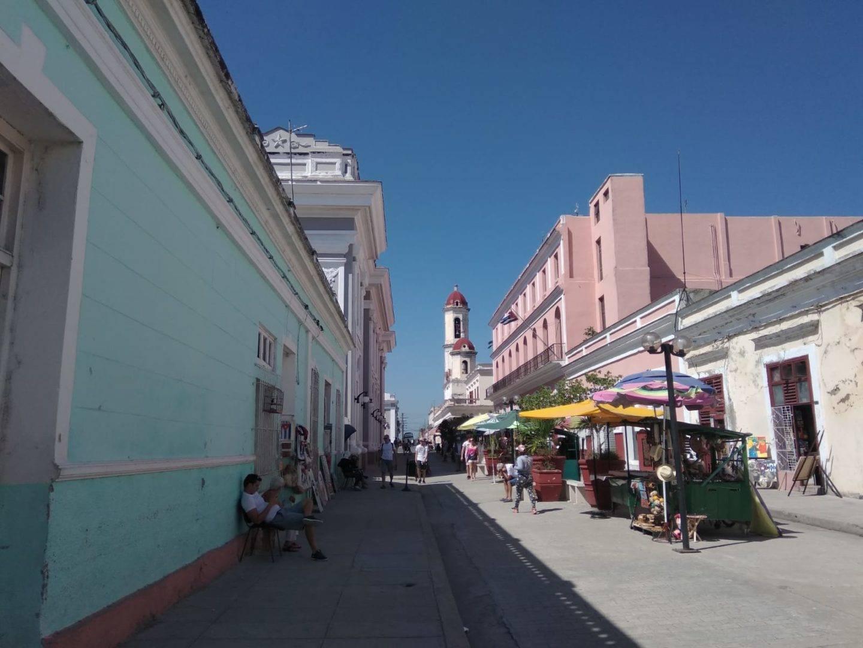 Calles del Casco Históico de Cienfuegos