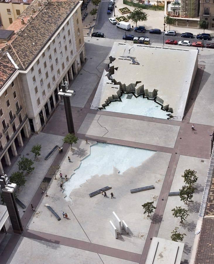 Fuente de la Hispanidad - Zaragoza