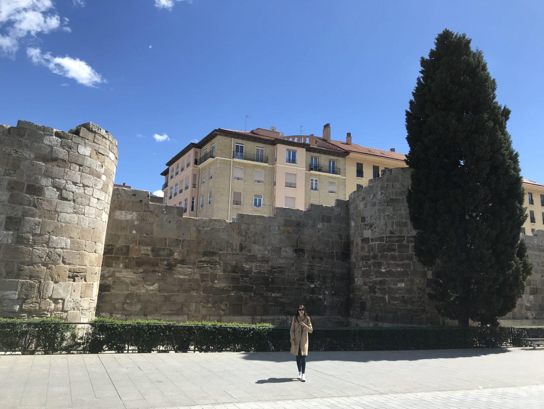 Muralla romana Zaragoza - la cadena viajera