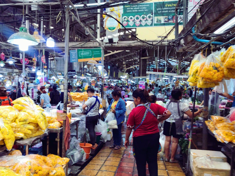 mercado de las flores bangkok- la cadena viajera