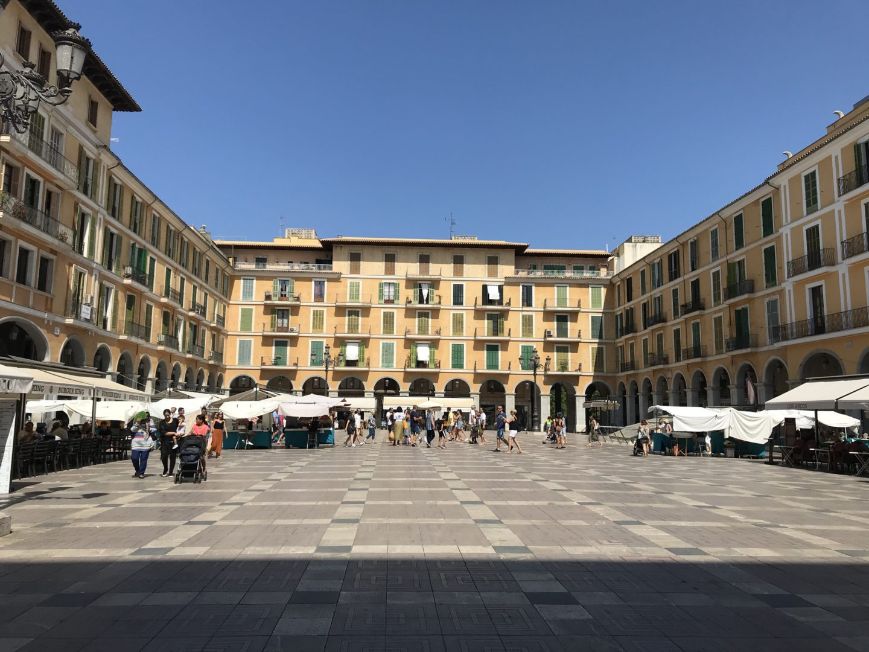 plaza mayor mallorca - la cadena viajera