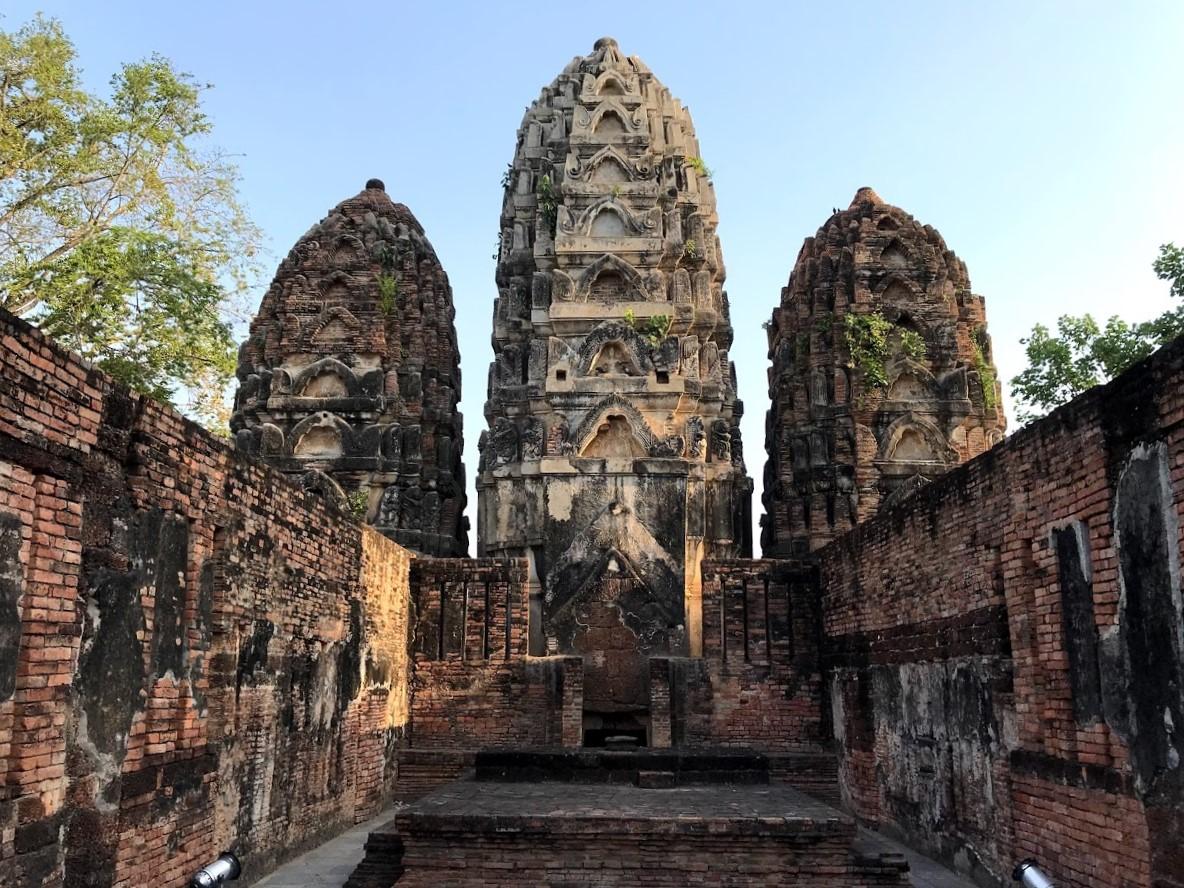 templo de sukhotai - la cadena viajera