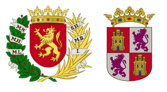 escudo de zaragoza y castilla y leon - la cadena viajera (1)