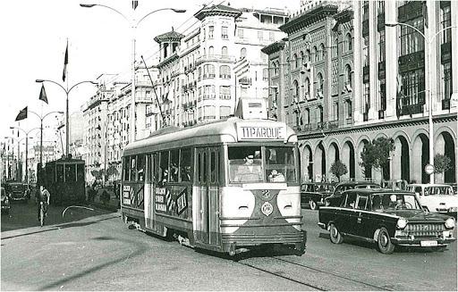 tranvias históricos de Zaragoza - la cadena viajera