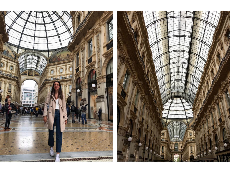 galeria vitorio Emanuelle - que ver en milan en 2 días