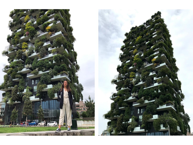 jardines verticales - que ver en milan en 2 dias - la cadena viajera